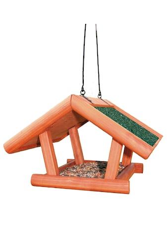 TRIXIE Vogelhaus »Giebel«, braun/grün, zum Hängen, B/T/H: 30/18/28 cm kaufen
