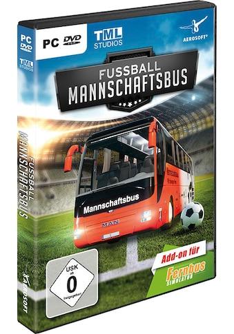 aerosoft Spiel »Fernbus Simulator Add-on - Fußball Mannschaftsbus«, PC kaufen