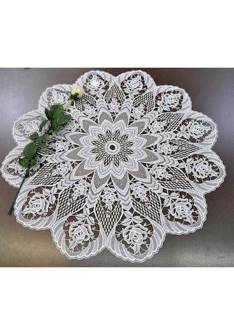Stickereien Plauen Tischdecke »Rosentraum« kaufen