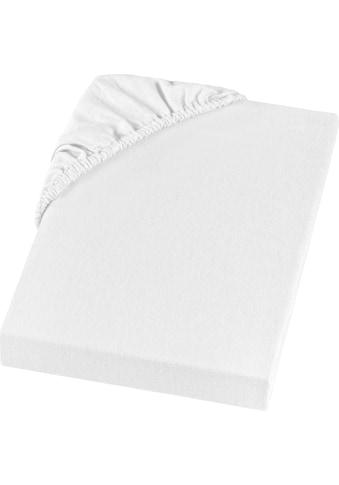 SETEX Spannbettlaken »Feinbiber Spannbettlaken«, in weicher Stoffqualität kaufen