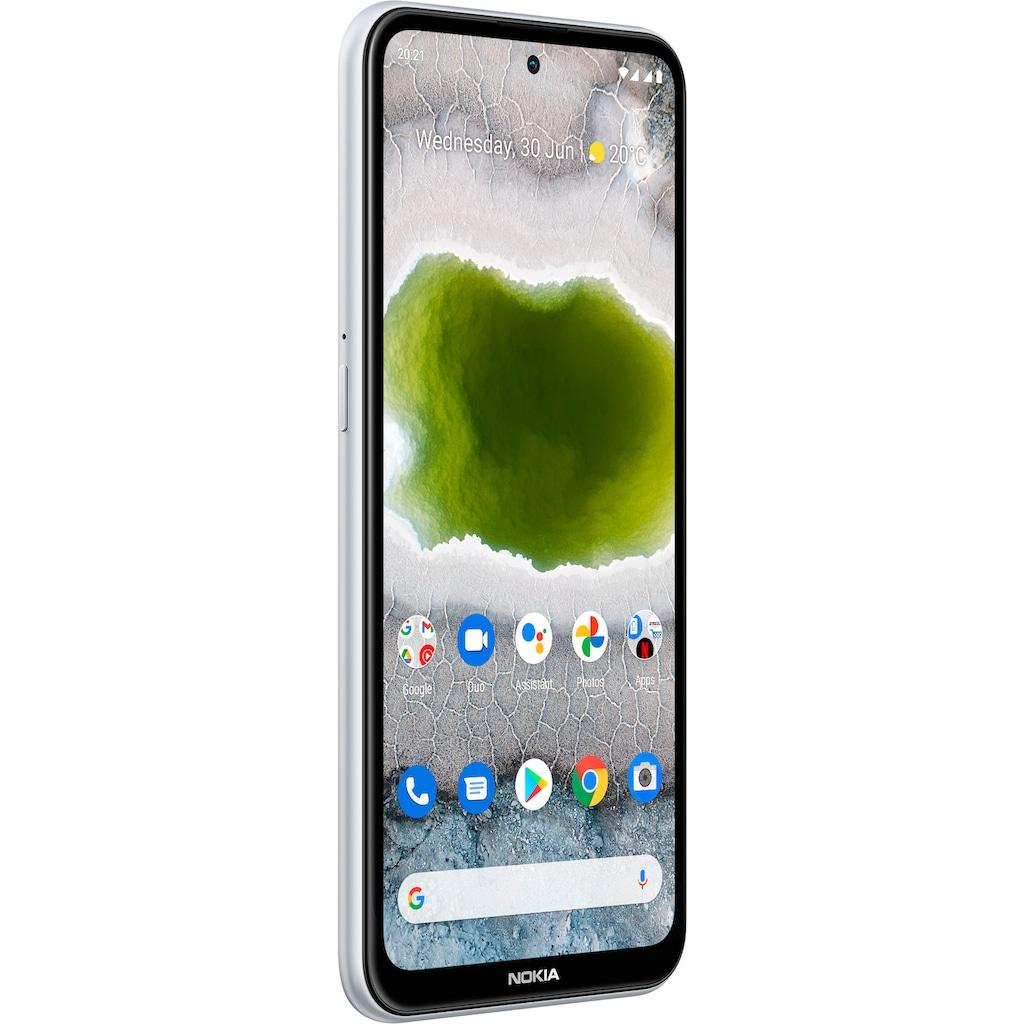 """Nokia Smartphone »X10,4+128 GB, Dual SIM«, (16,94 cm/6,67 """", 128 GB Speicherplatz, 48 MP Kamera), 3 Jahre Herstellergarantie"""
