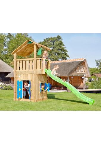 JUNGLE GYM Spielturm »Jungle Shelter Playhouse«, BxTxH: 180x400x290 cm kaufen