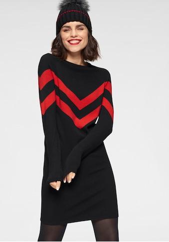 Tamaris Strickkleid, mit Streifen-Muster kaufen
