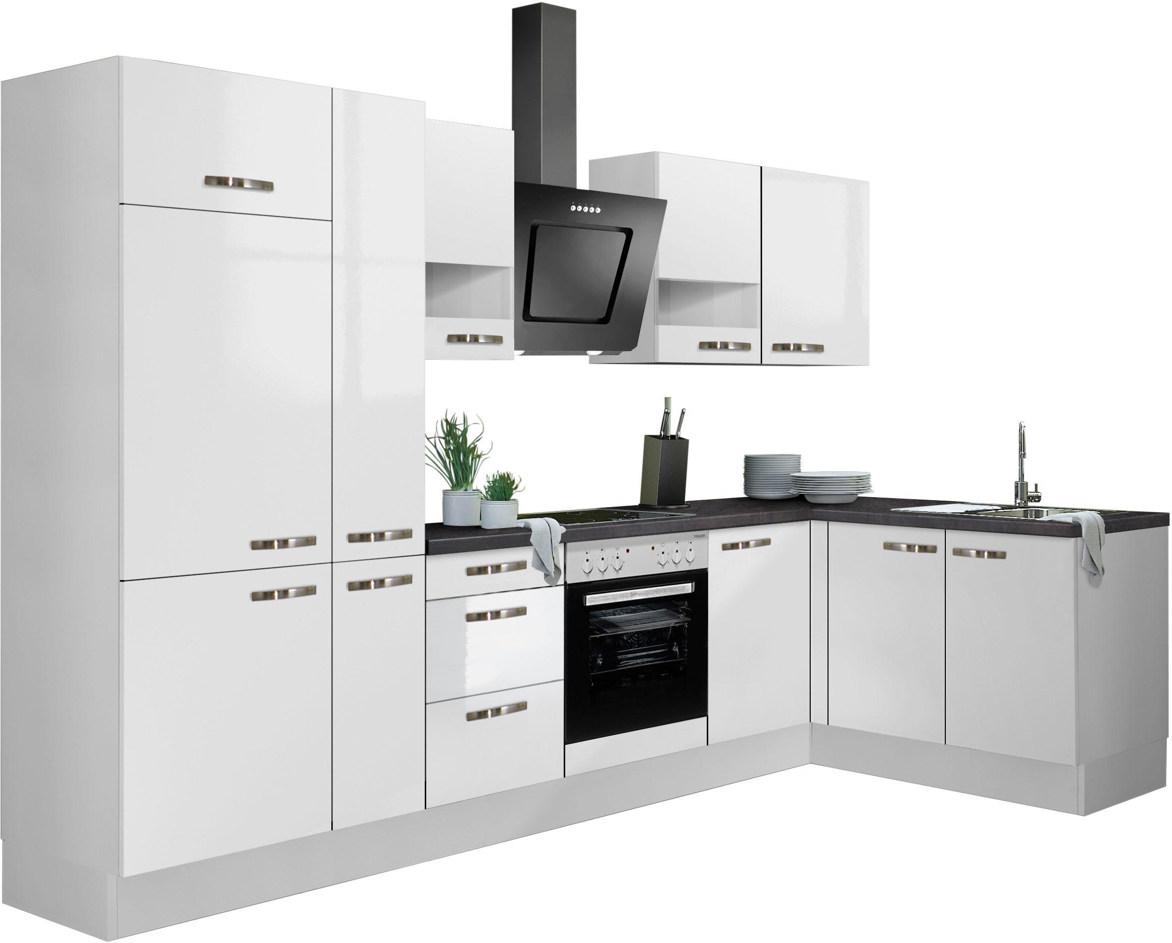 OPTIFIT Winkelküche »Cara«, ohne E-Geräte, Stellbreite 315 x 175 cm | Küche und Esszimmer > Küchen > Winkelküchen | OPTIFIT