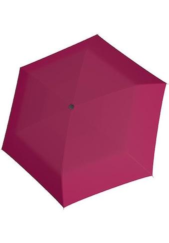 doppler® Taschenregenschirm »Carbonsteel Mini Slim uni, Berry« kaufen
