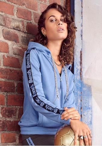 Bench. Kapuzensweatshirt, mit Reißverschluss und regulierbaren Saum kaufen