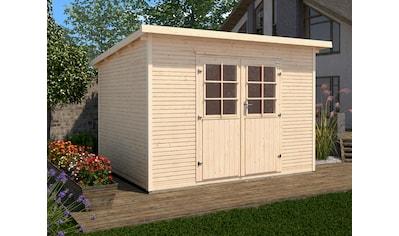WEKA Gartenhaus »219 Gr.2«, BxT: 320x278 cm, inkl. Fußboden kaufen