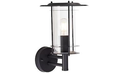 Brilliant Leuchten York Außenwandleuchte stehend schwarz matt kaufen