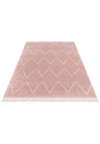 Hochflor - Teppich, »Ruby«, MINT RUGS, rechteckig, Höhe 35 mm, maschinell gewebt kaufen