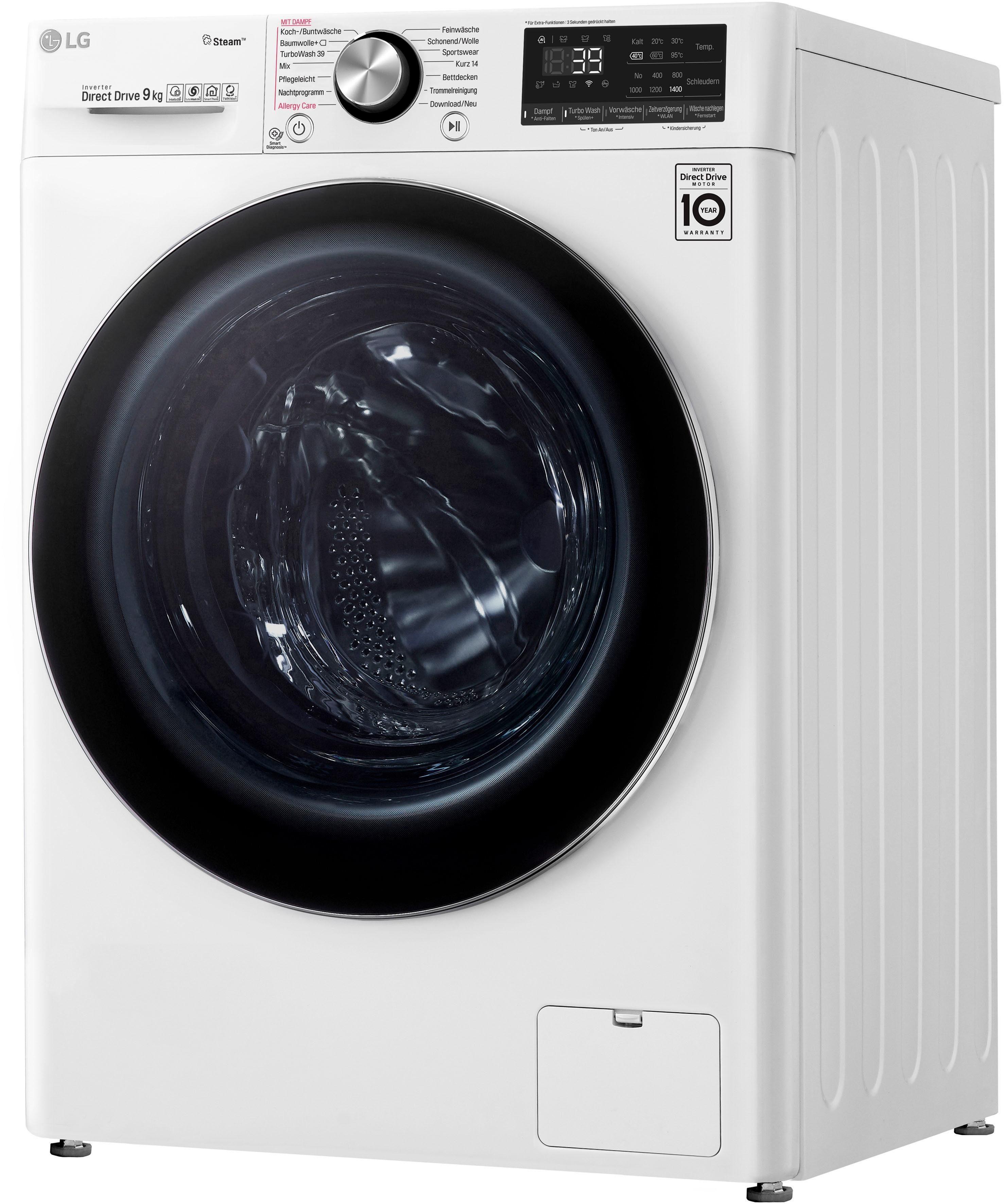 LG Waschmaschine Serie 9 F4WV909P2 | Bad > Waschmaschinen und Trockner > Frontlader | LG