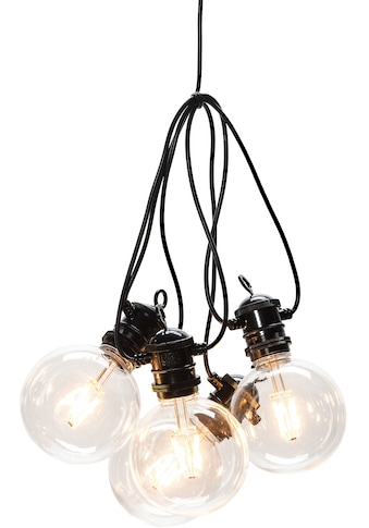 KONSTSMIDE LED-Lichterkette, 10 St.-flammig, LED globe Biergartenketten System... kaufen