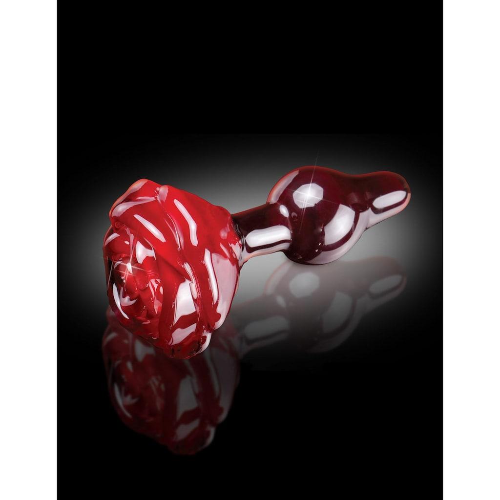 Icicles Analplug »Icicle No. 76«, mundgeblasenes Glas