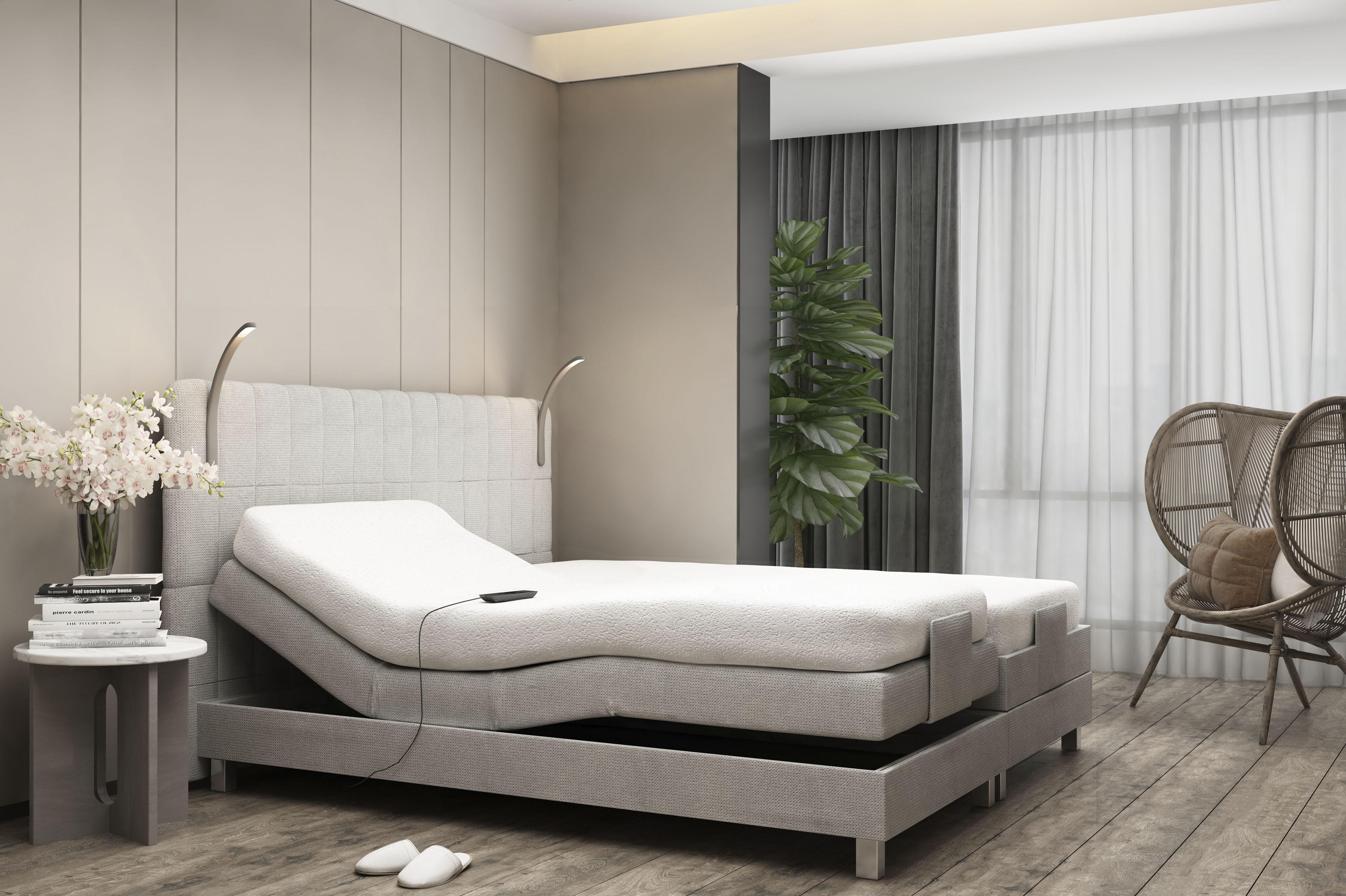 Westfalia Schlafkomfort Boxbett, mit Motor und LED-Beleuchtung günstig online kaufen