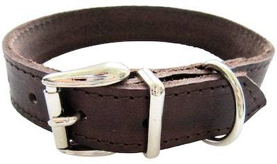 HEIM Hunde-Halsband, Echtleder, Länge: 45 cm kaufen
