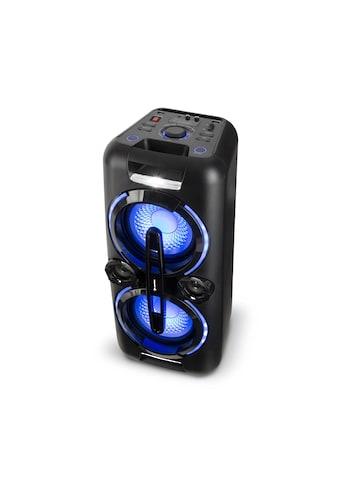 Auna Bazzter Party-Audiosystem 2 x 50W RMS Akku BT USB MP3 AUX U »Bazzter« kaufen