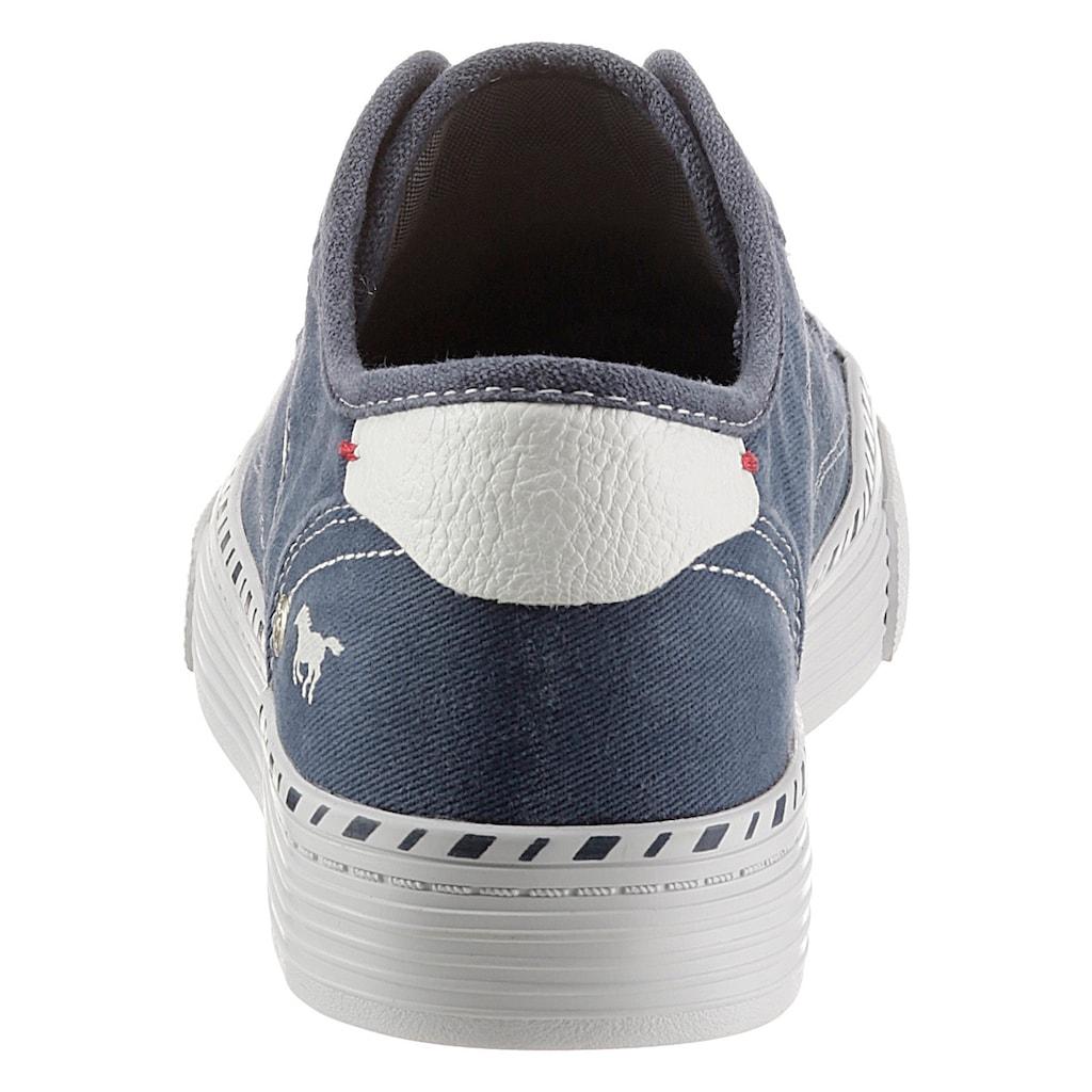 Mustang Shoes Slip-On Sneaker, mit praktischem Gummizug