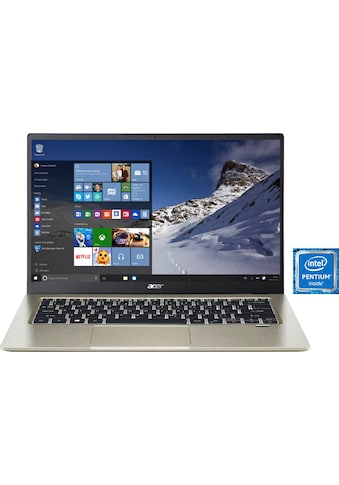 Acer Notebook »SF114-34-P0PL«, (35,56 cm/14 Zoll Intel Pentium UHD Graphics\r\n 256 GB... kaufen