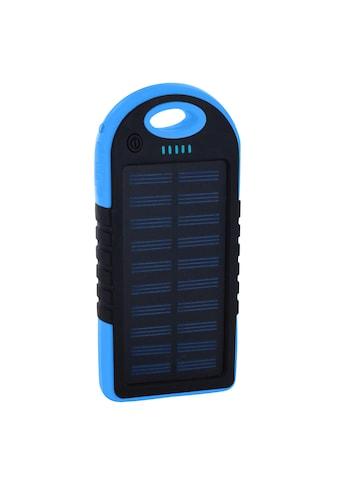 XLAYER Zusatzakku »Powerbank PLUS Solar Black/Blue 4000mAh« kaufen