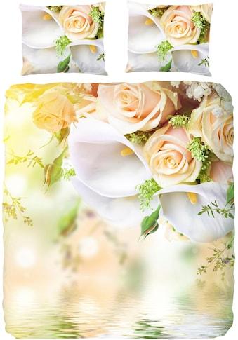 good morning Bettwäsche »Dory«, mit Blumen kaufen