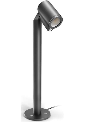 steinel LED Gartenstrahler »Spot Way SC«, LED-Board, Warmweiß, 90° Bewegungsmelder,... kaufen