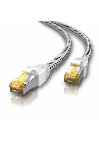 Primewire Netzwerkkabel »Cat.7 Rohkabel mit RJ 45 Stecker«, RJ-45 (Ethernet), 25 cm,... kaufen