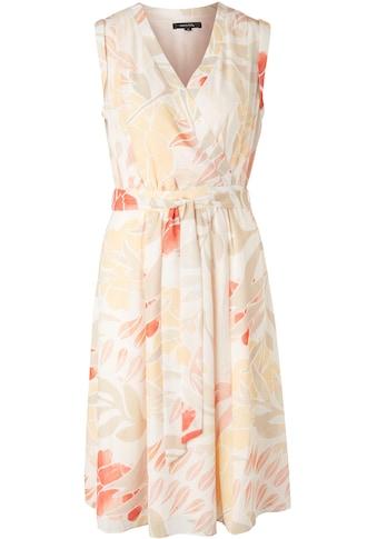 Comma Sommerkleid, allover gemustert, aus leichter Chiffonqualität kaufen