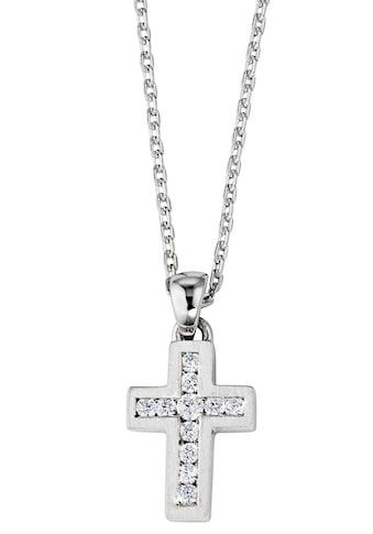 DOOSTI Kette mit Anhänger »Kreuz, SI - N - 17 - RH« kaufen