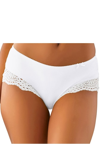 LASCANA Panty, aus Microtouchmaterial mit recycelter Spitze am Beinausschnitt kaufen