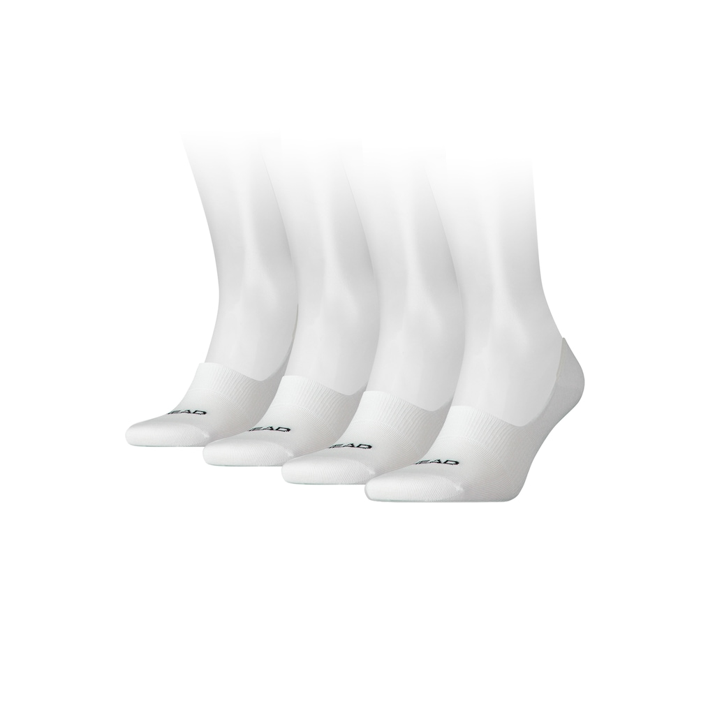 Head Füßlinge, (4 Paar), mit hohem Spann