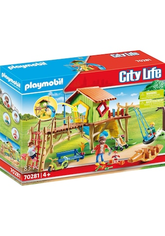 Playmobil® Konstruktions-Spielset »Abenteuerspielplatz (70281), City Life«, ; Made in Germany kaufen