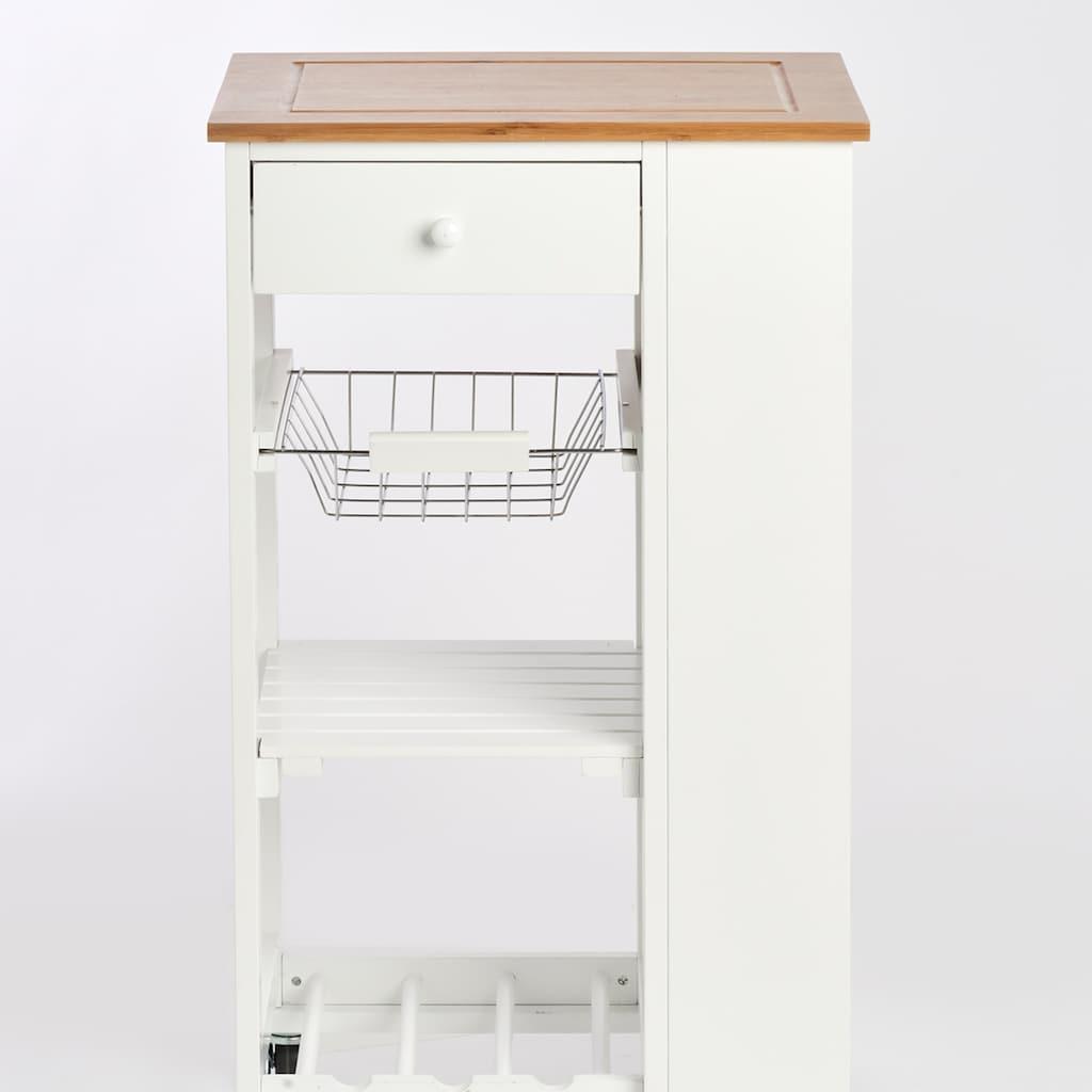Zeller Present Küchenwagen, mit 4 Rollen