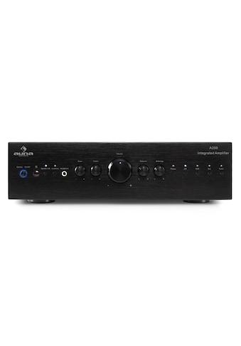 Auna HiFi Stereo Verstärker Amplifier Endstufe Equalizer AUX 600W kaufen