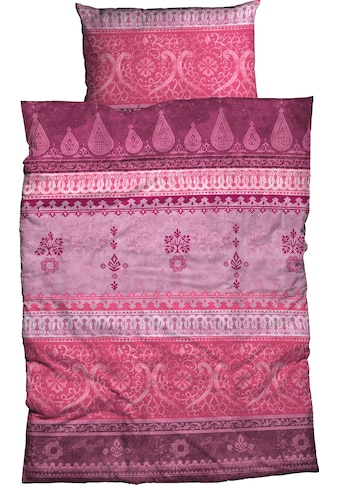 CASATEX Bettwäsche »Indi«, in kuscheliger Biber-Qualität mit Ornamenten kaufen