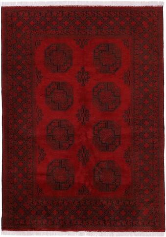 Woven Arts Orientteppich »Afghan Akhche«, rechteckig, 10 mm Höhe, handgeknüpft,... kaufen