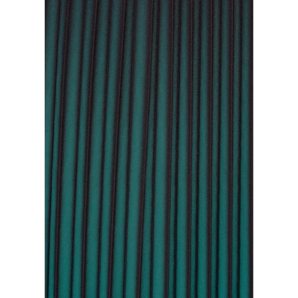 select! By Hermann Lange Plisseerock, mit elegantem Farbverlauf