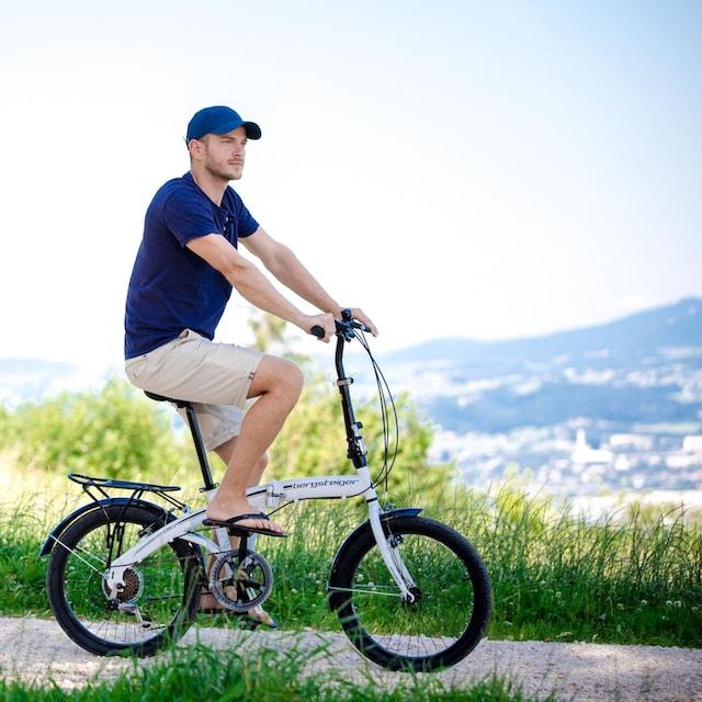 bergsteiger Faltrad »Windsor«, 6 Gang Shimano Kettenschaltung