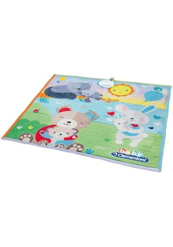 Krabbeldecke »Baby, First Months  -  Weiche Spielmatte«, Clementoni® kaufen