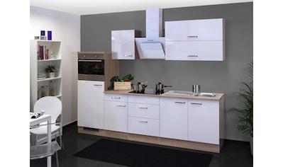 Flex-Well Küchenzeile »Valero«, mit E-Geräten, Gesamtbreite 270 cm kaufen