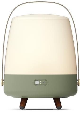 kooduu LED Tischleuchte »Lite-up Play«, LED-Board, Warmweiß, Lautsprecher integriert, dimmbar, Holzgriff, spritzwassergeschützt kaufen