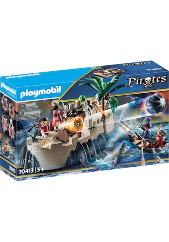 "Playmobil® Konstruktions - Spielset ""Rotrockbastion (70413), Pirates"", Kunststoff kaufen"