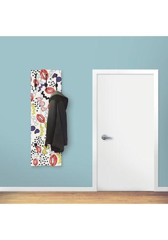 Artland Garderobenpaneel »Mund mit Pop - Art« kaufen