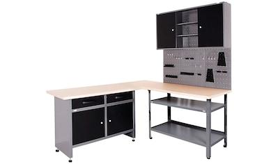 ONDIS24 Werkstatt - Set 4 - tlg., großes Eck - Set kaufen