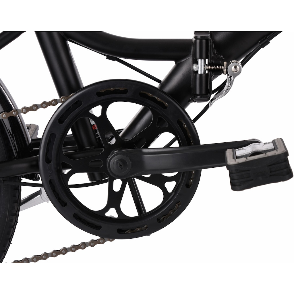 KS Cycling Faltrad »Foldtech«, 6 Gang, Shimano, SHIMANO Tourney Schaltwerk, Kettenschaltung