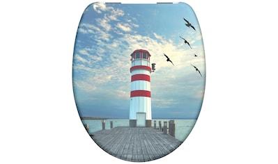 Schütte WC-Sitz »Lighthouse«, mit Absenkautomatik kaufen