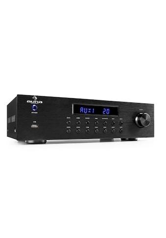 Auna 4 Zonen HiFi Stereo Verstärker 5x80W RMS Bluetooth USB CD »AV2 - CD850BT« kaufen