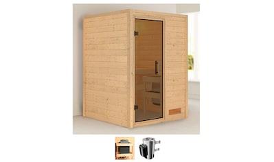 Karibu Sauna »Nastja«, 3,6-kW-Plug & Play Ofen mit integrierter Steuerung kaufen