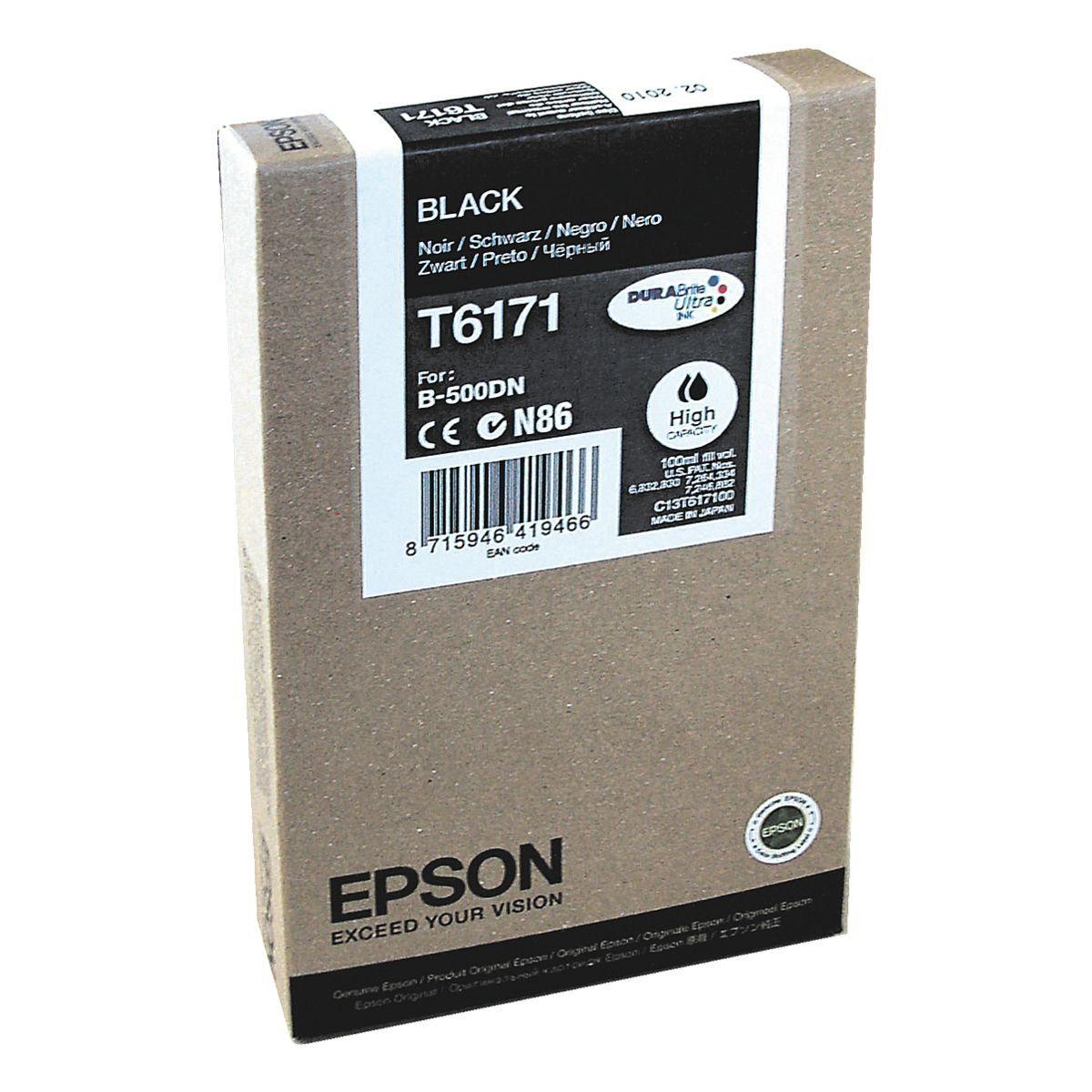 Epson Tintenpatrone »T617100« Nr. T6171