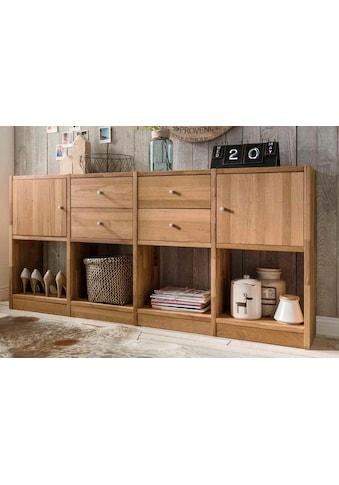 Premium collection by Home affaire Sideboard »Ecko«, aus massivem Wildeichenholz, Breite 181 cm kaufen