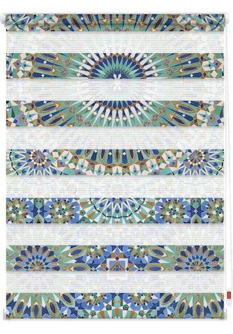 LICHTBLICK ORIGINAL Doppelrollo »Duo Rollo Motiv Orientalisches Muster«, Lichtschutz,... kaufen