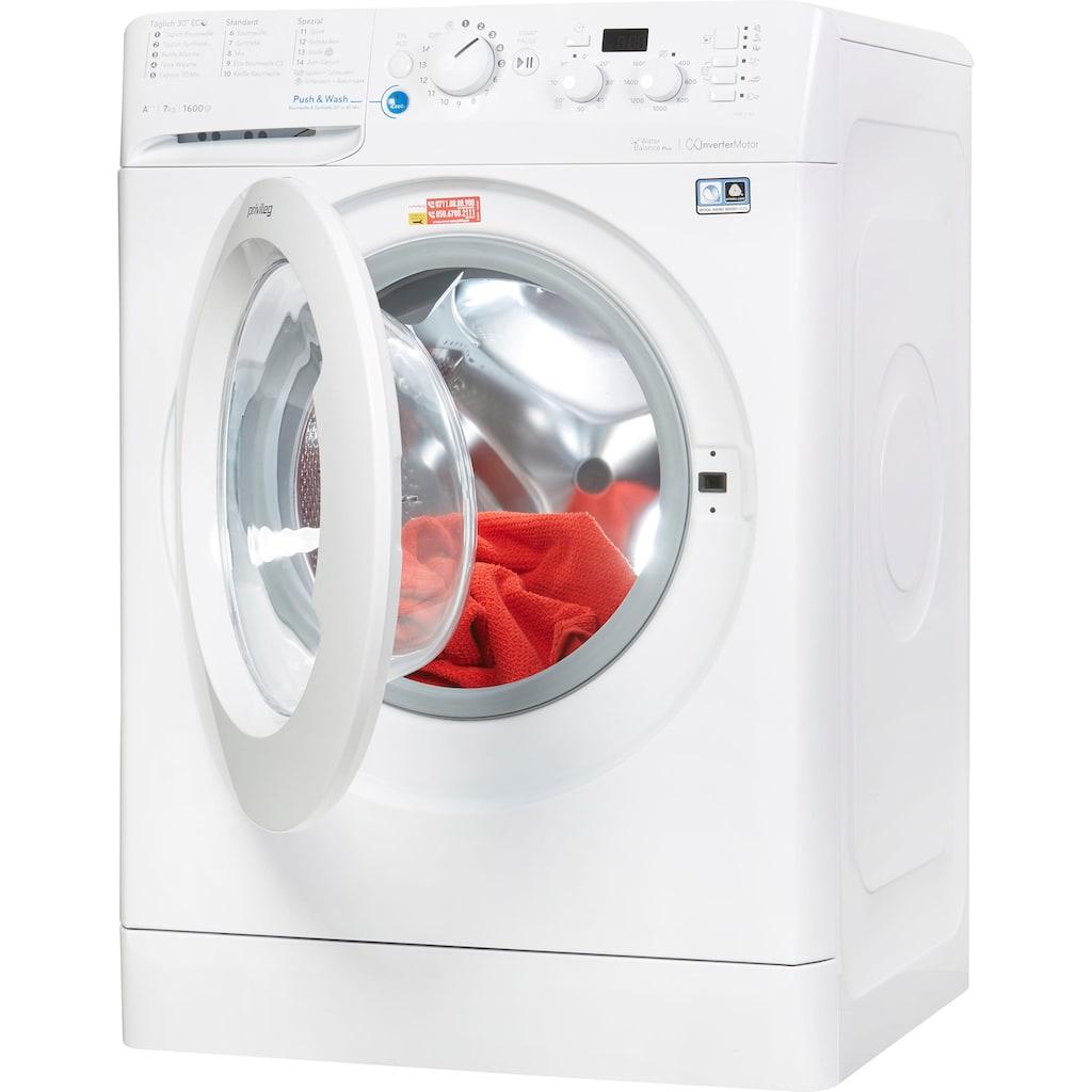 Privileg Waschmaschine »PWF X 763«, PWF X 763